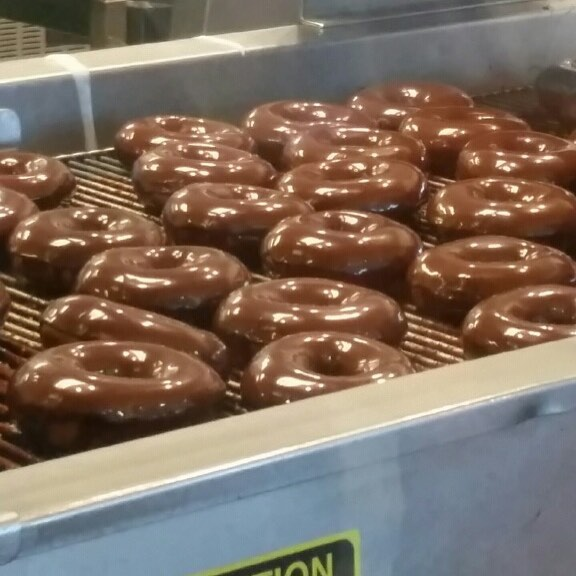 Whoohoo  they have arrived!! Krispy Kreme donuts have beenhellip