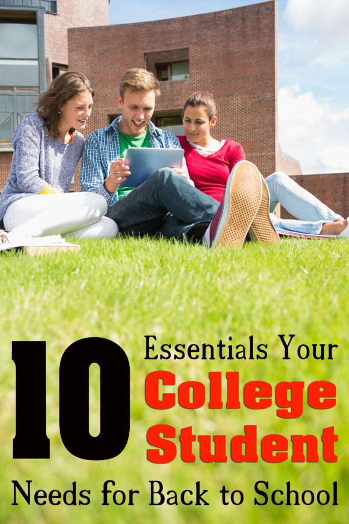 10 Essentials Your College Student Needs for Back to School