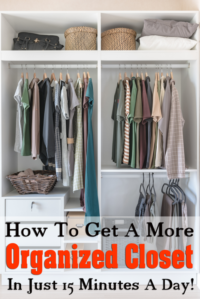 How to Get a More Organized Closet in Just 15 Minutes a Day