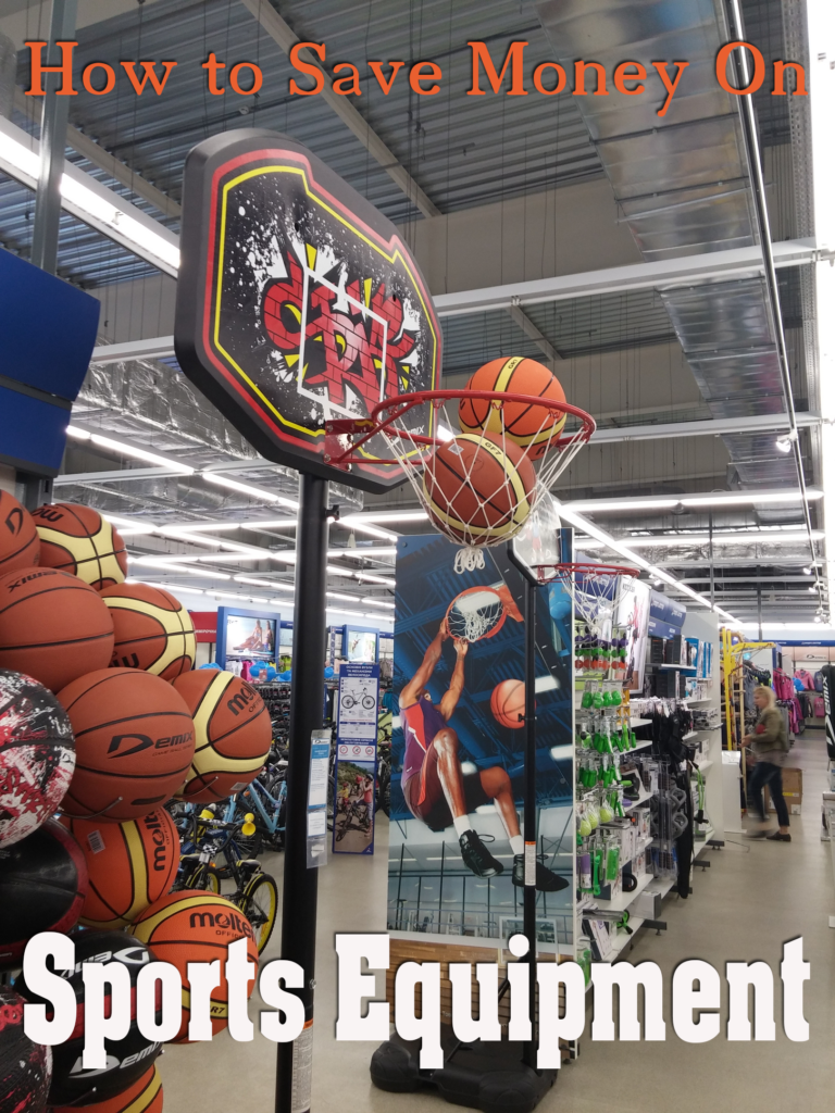 How to Save Money on Sports Equipment