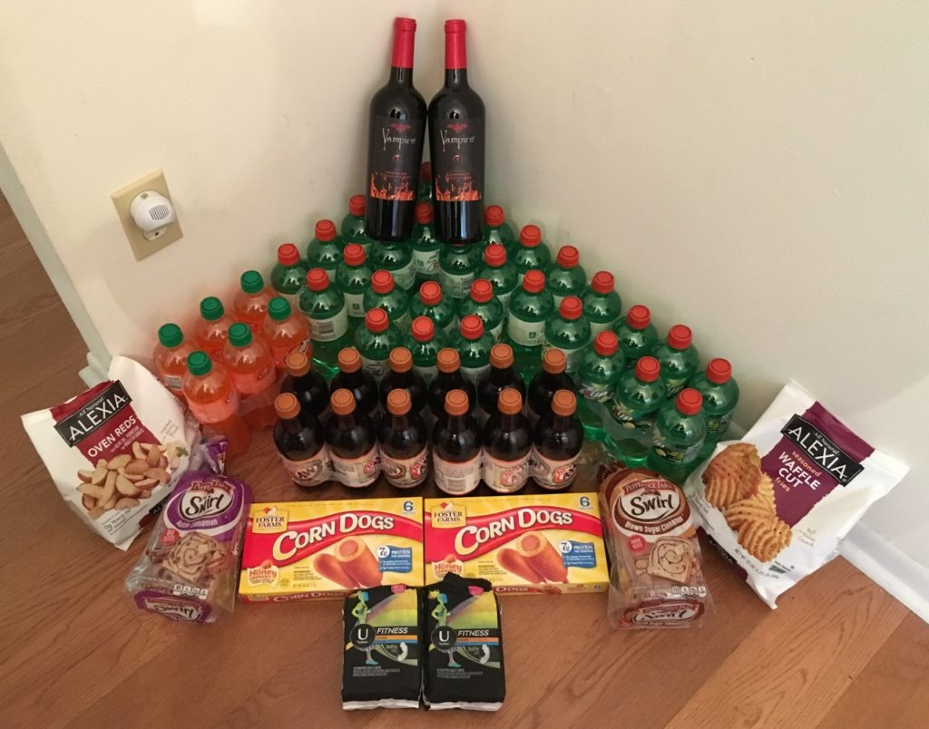 My 10/25 Publix Trip - $105.58 for $34.59 or 67% Off