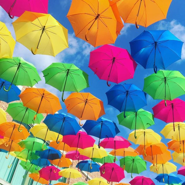Look up Pensacola! The Pensacola Umbrella Sky Project is happeninghellip