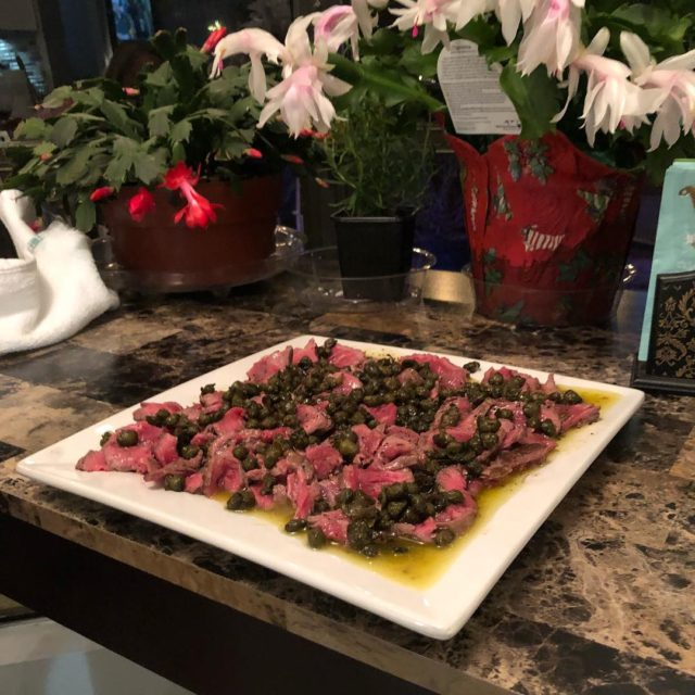 Omgyum!!!! My absolute favorite food of the gods beef carpaccio!!!hellip