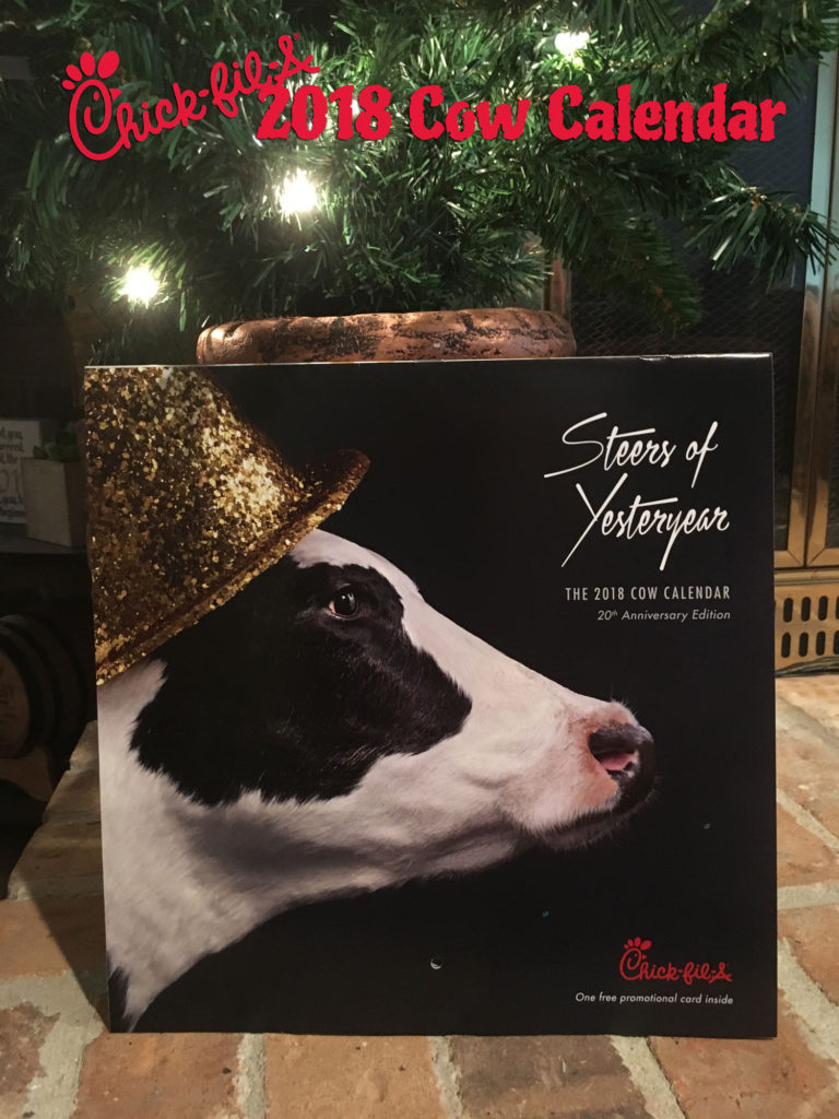 Buy a Chick-fil-A Calendar for $9 and Save All Year!