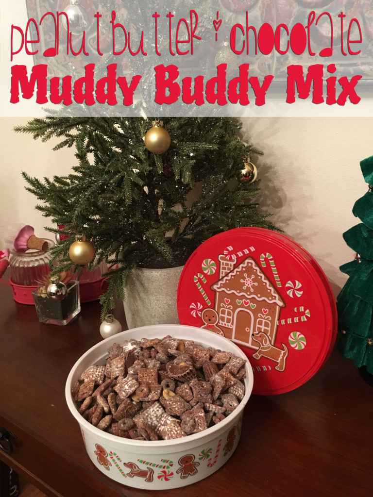 Peanut Butter & Chocolate Muddy Buddy Mix Recipe