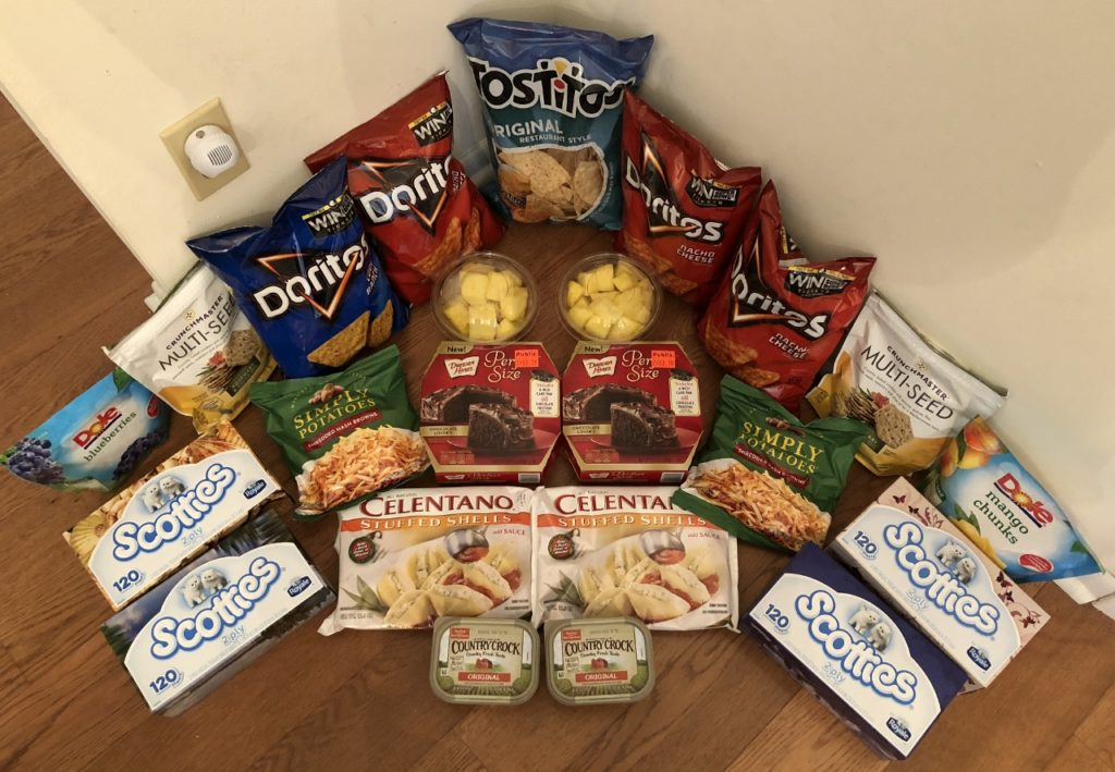 My 1/17 Publix Trip - $77.45 for $32.77 or 58% Off