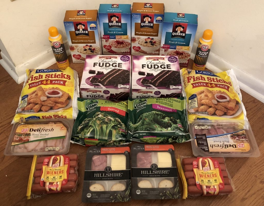 My 2/28 Publix Trip - $73.87 for $32.46 or 56% Off