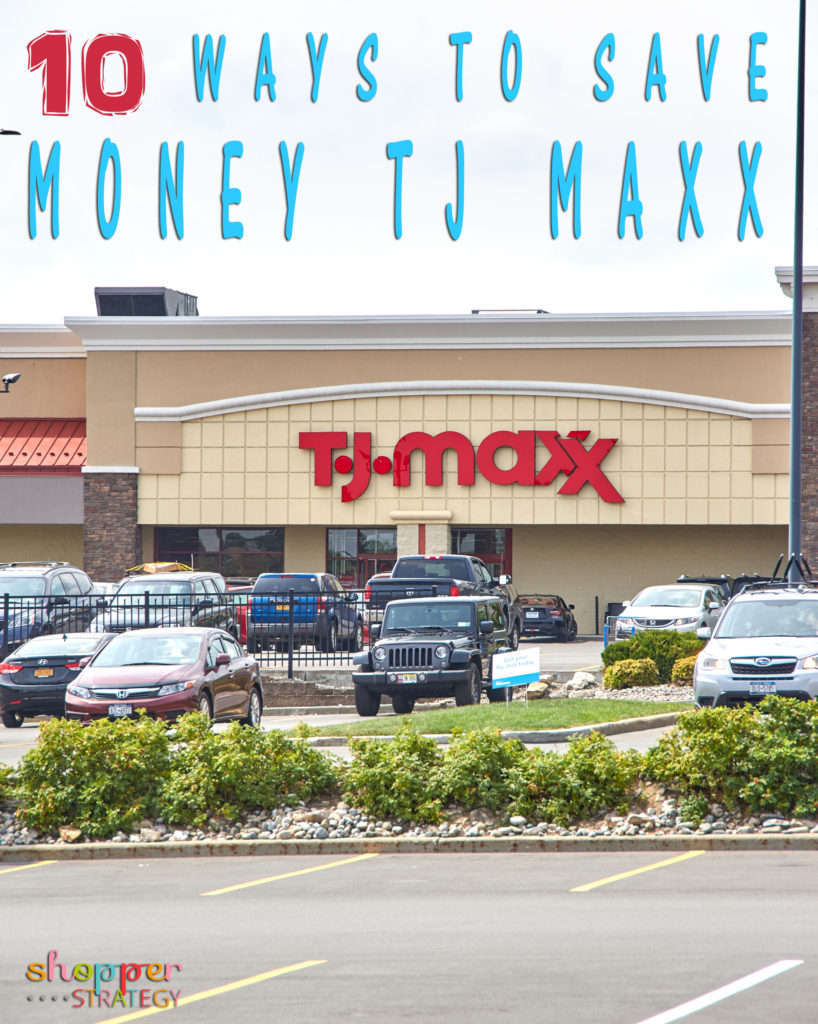 10 Ways to Save Money at TJ Maxx