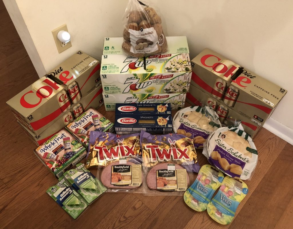 My 3/28 Publix Trip - $127.83 for $35.34 or 72% Off