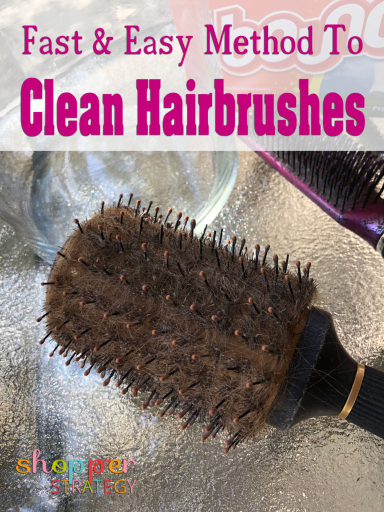 Fast & Easy Method to Clean Hairbrushes Like Magic