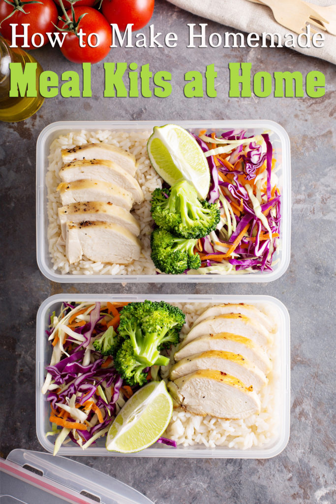 How to Make Homemade Meal Kits at Home
