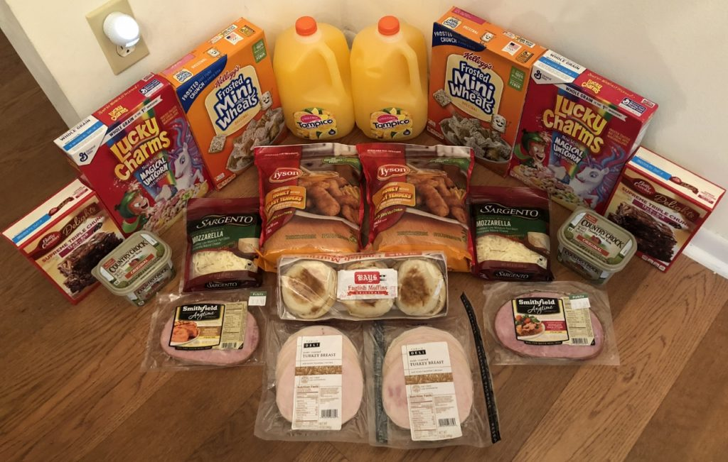 My 9/5 Publix Trip - $75.98 for $31.53 or 59% Off