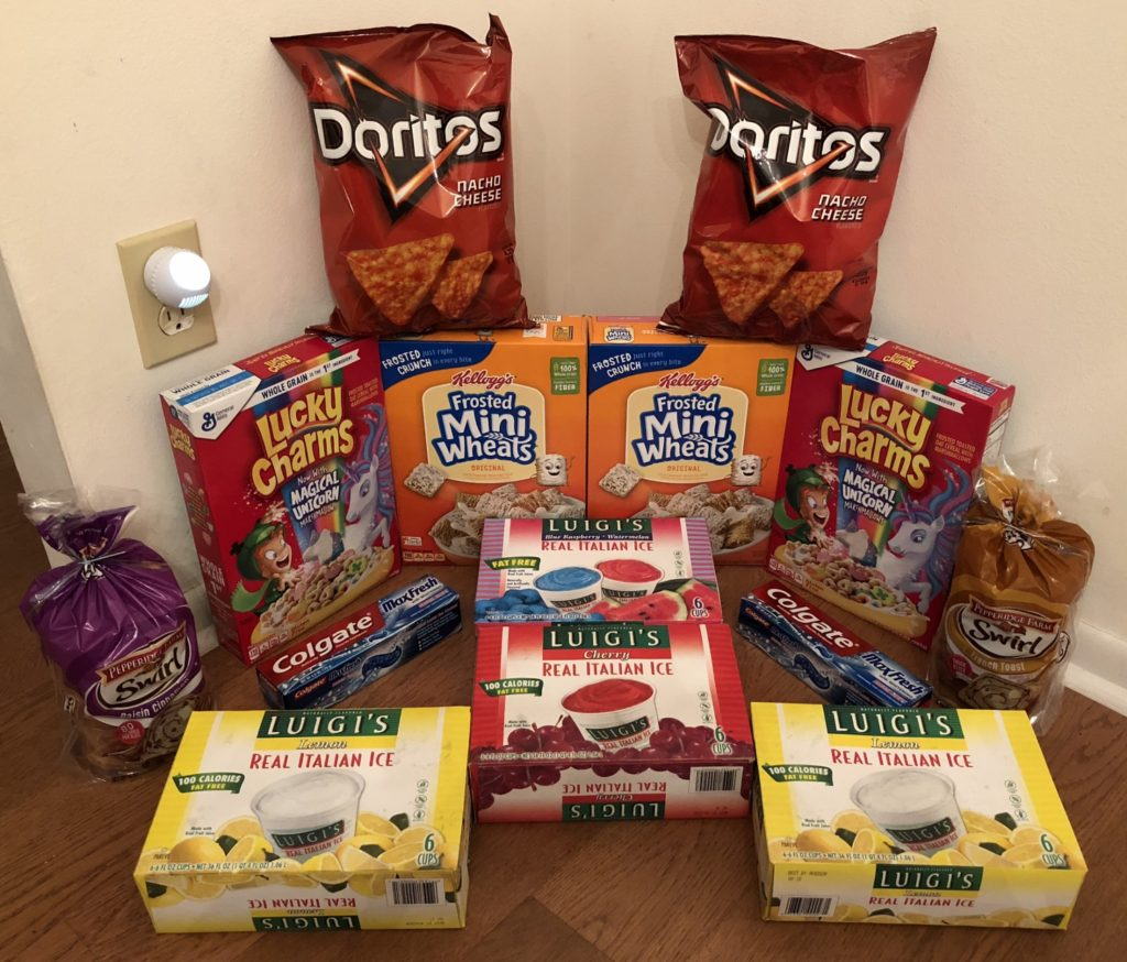 My 10/10 Publix Trip - $57.66 for $25.28 or 56% Off