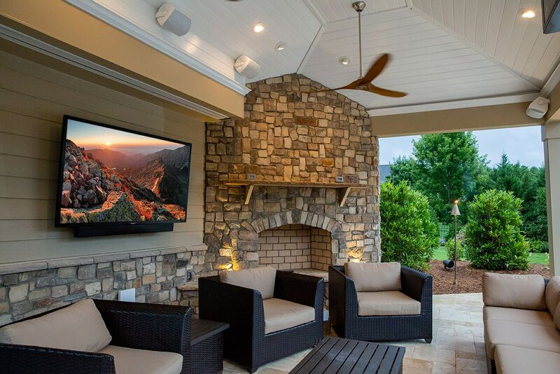 Enjoy Your Outdoor Living Spaces with SunBrite Veranda Series TVs