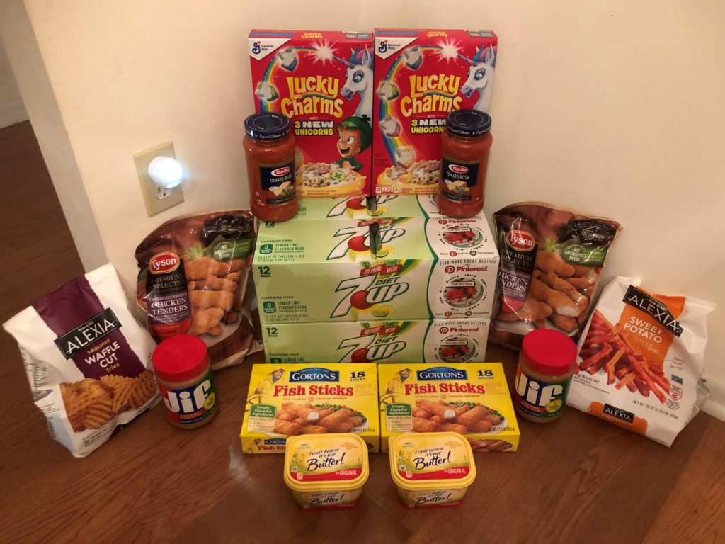 My 8/14 Publix Trip – $91.21 for $41.04 or 55% Off