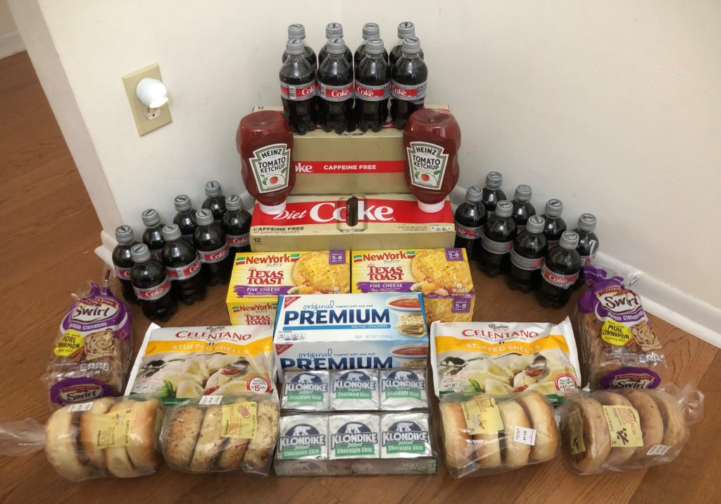 My 9/18 Publix Trip – $79.16 for $29.54 or 63% Off
