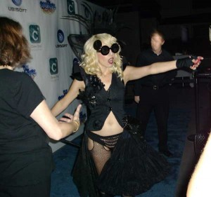 """""""Lady Gaga"""" at the Clever Girls Collective Party"""