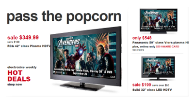 Kmart Televisions for Layaway