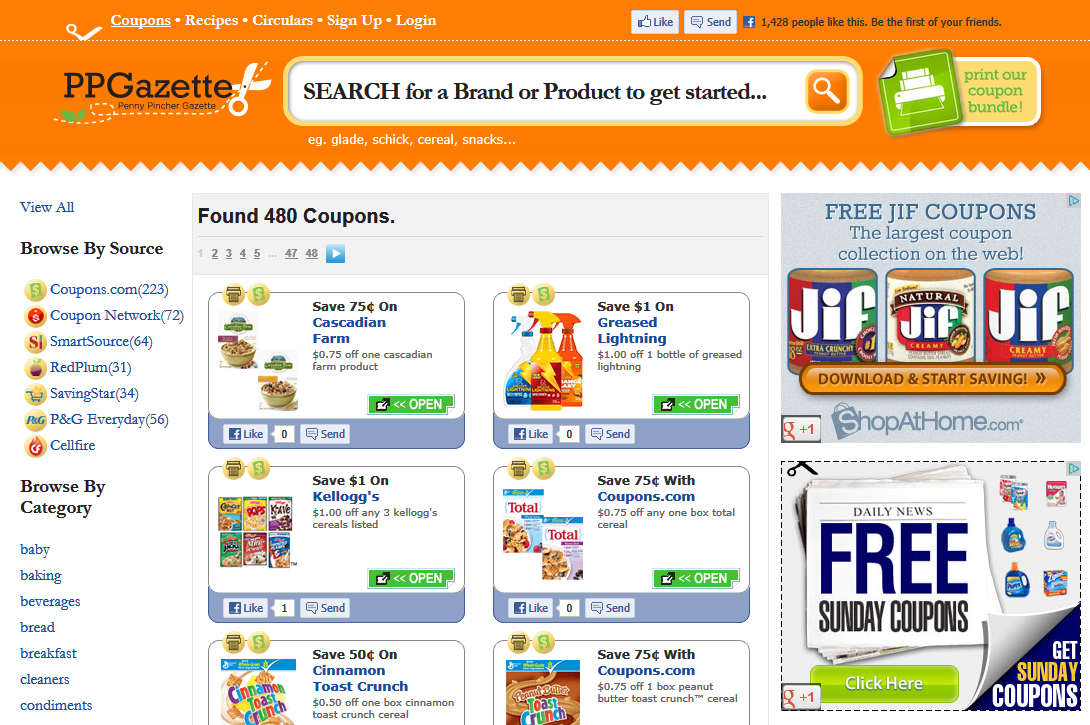 Get All Your Coupons in One Spot With PPGazette