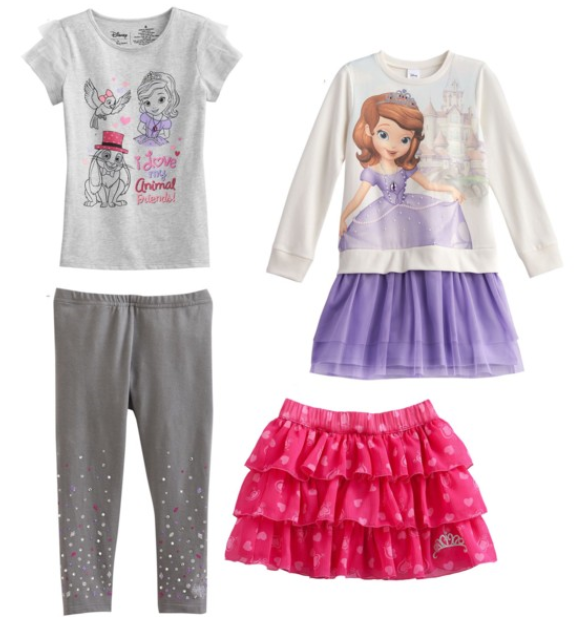Kohl's Disney Collection Sofia the First