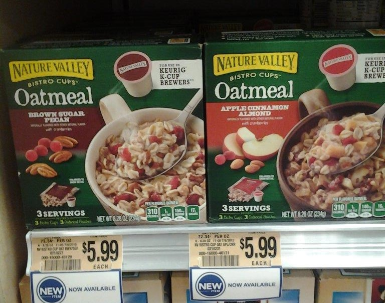 Nature Valley's Oatmeal Bistro Cups