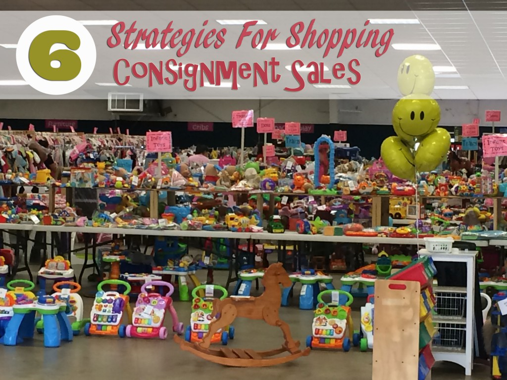6 Strategies for Shopping Consignment Sales
