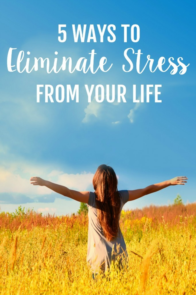 5 Ways to Eliminate Stress from your Life