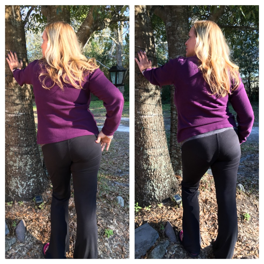 I'm Taking the #YogaPantChallenge with Depend