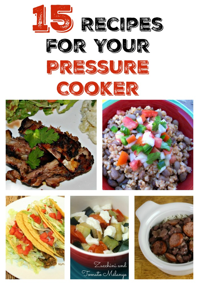 Tasty Tuesday: 15 Pressure Cooker Recipes