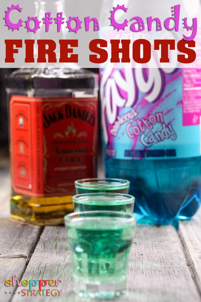 Cocktail Recipe: Cotton Candy Fire Shots