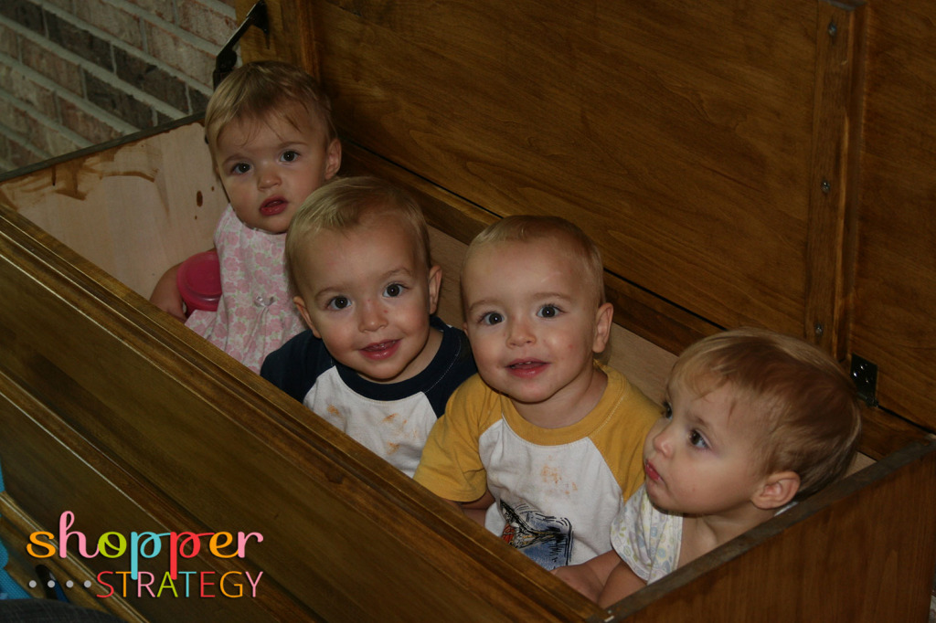 Quadruplets in a Toy Box