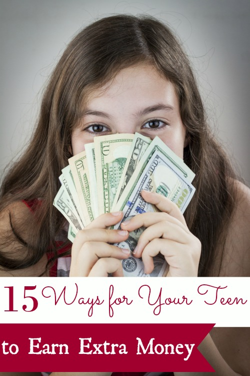 15 Ways for Teens to Earn Extra Money