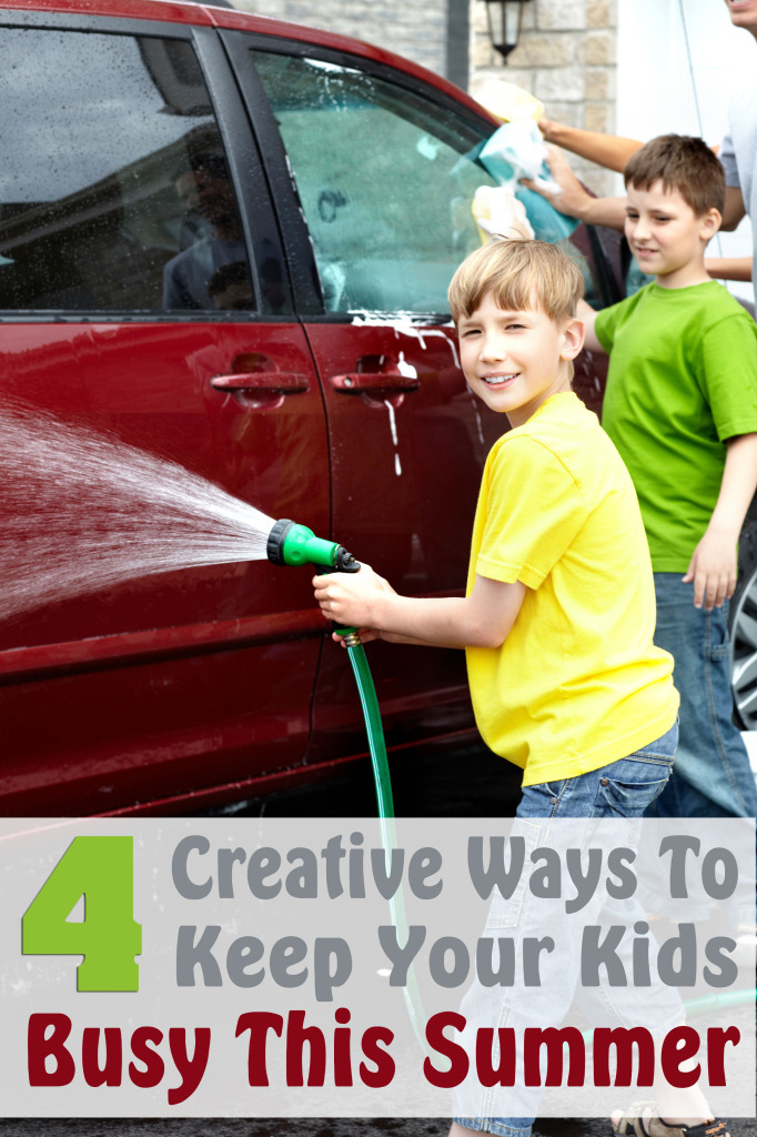 4 Creative Ways to Keep Your Kids Busy This Summer
