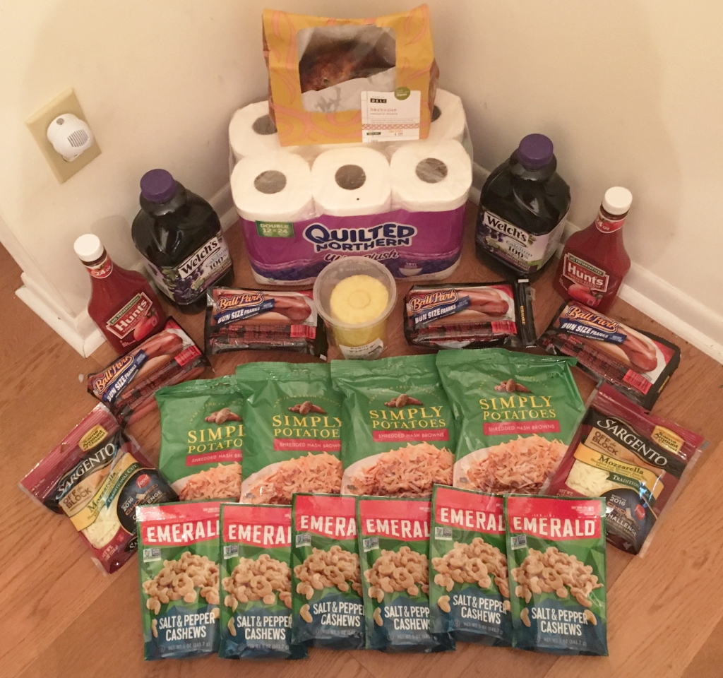My 8/17 Publix Trip - $90.39 for $36.85 or 59% Off