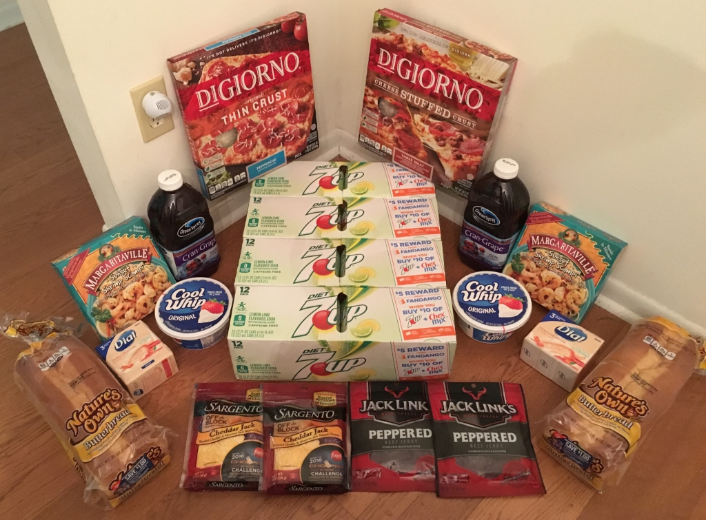 My 8/31 Publix Trip - $97.76 for $31.09 or 68% Off