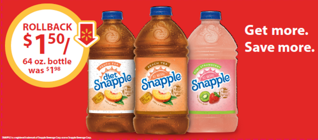 Don't Miss These Great Sale Prices on Snapple Drinks!