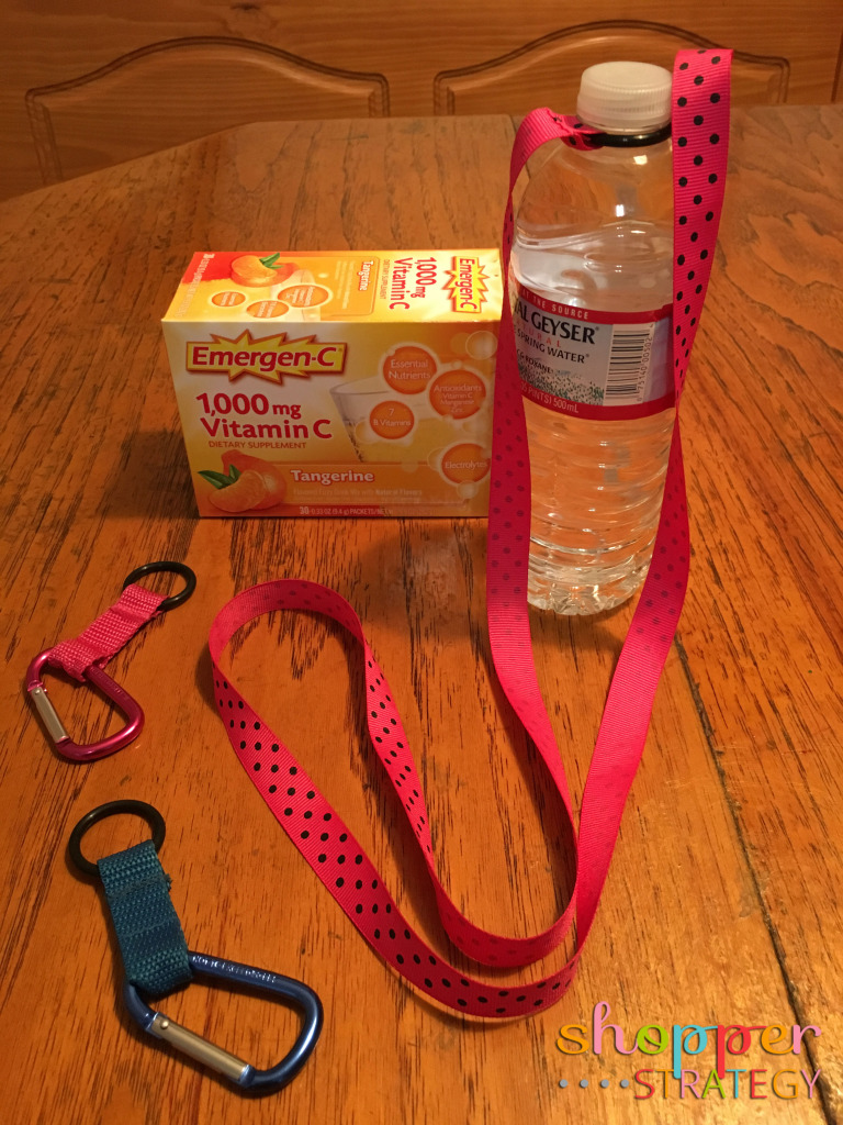 DIY Water Bottle Carriers and the Gift of Healthy Water