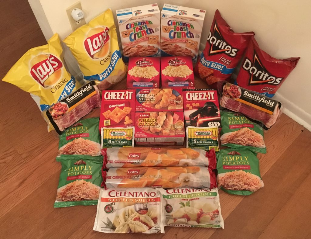 My 12/28 Publix Trip - $103.07 for $40.16 or 61% Off