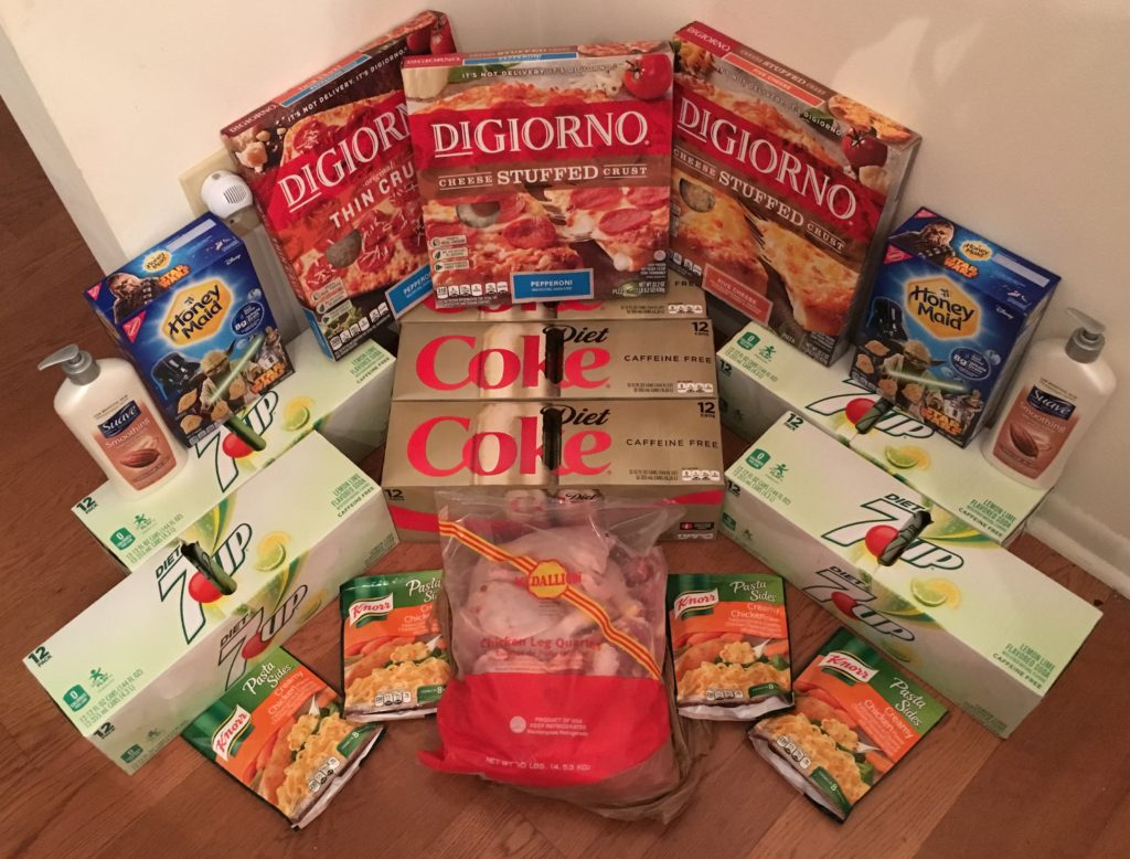 My 1/25 Publix Trip - $92.24 for $34.49 or 63% Off