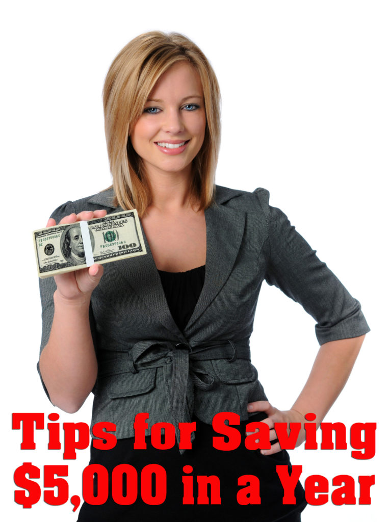 Tips for Saving $5,000 in One Year