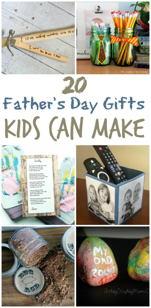 20 Gifts Kids Can Make Dad for Father's Day