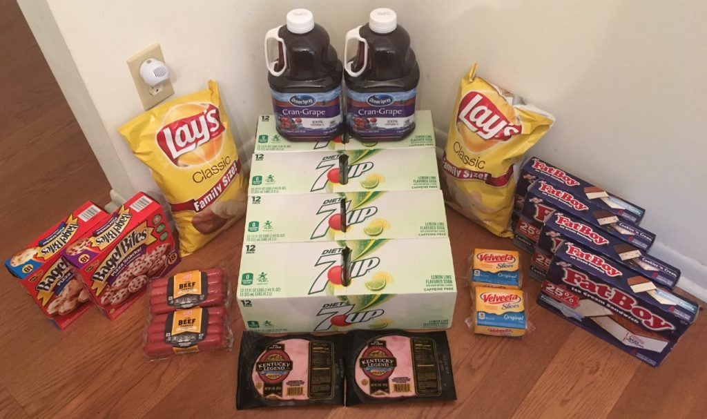 My 6/7 Publix Trip - $95.91 for $40.11 or 58% Off