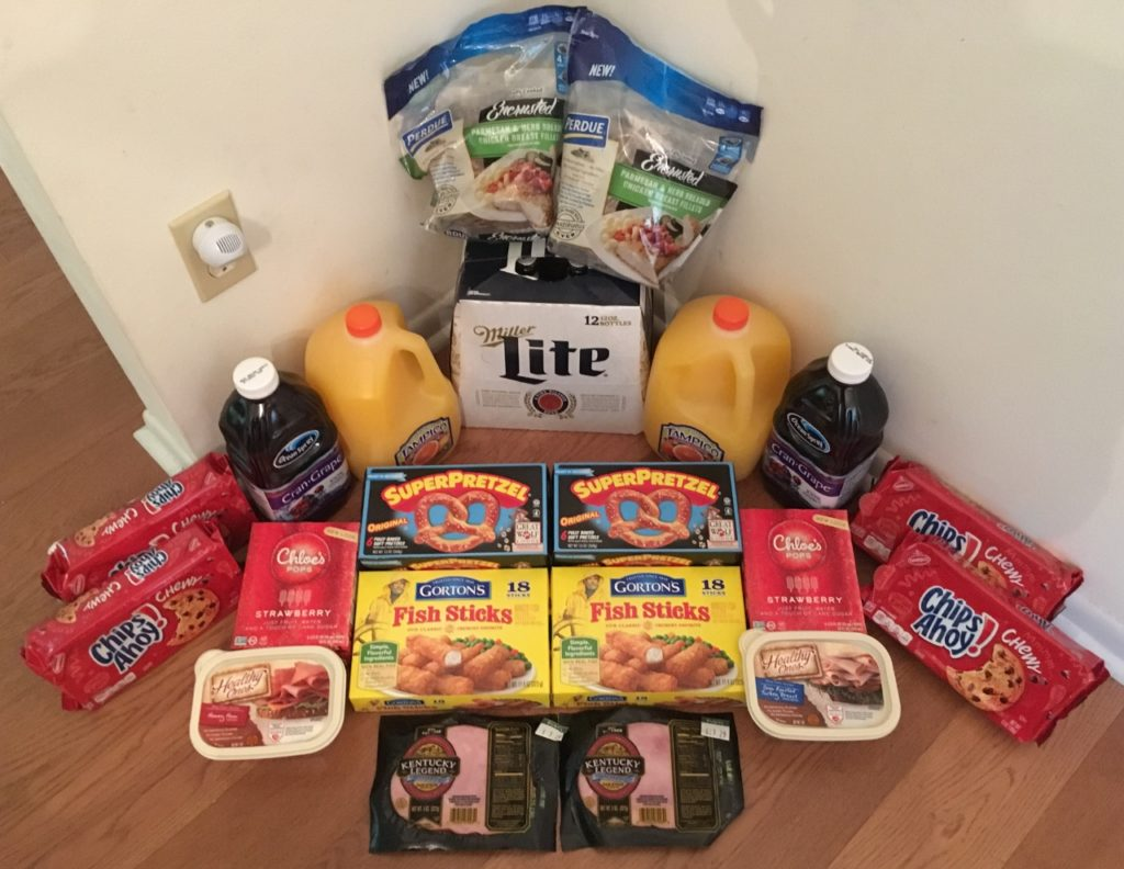 My 7/5 Publix Trip - $92.67 for $35.48 or 62% Off