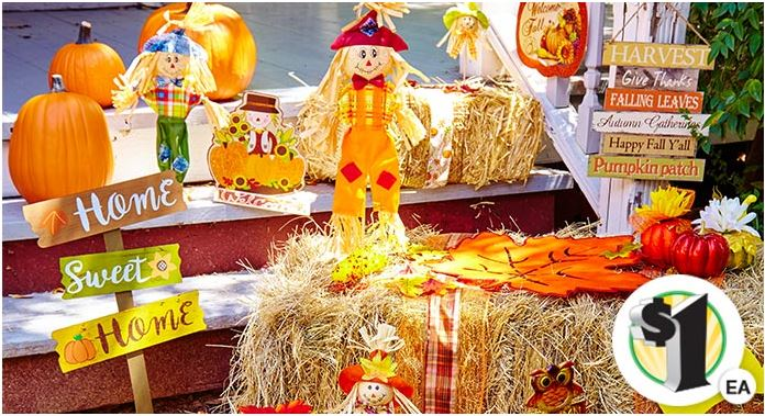 Inexpensive Halloween & Fall Decorations