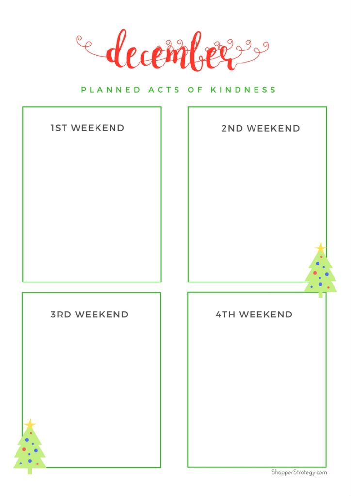 Free Christmas Gift & Holiday Planner!
