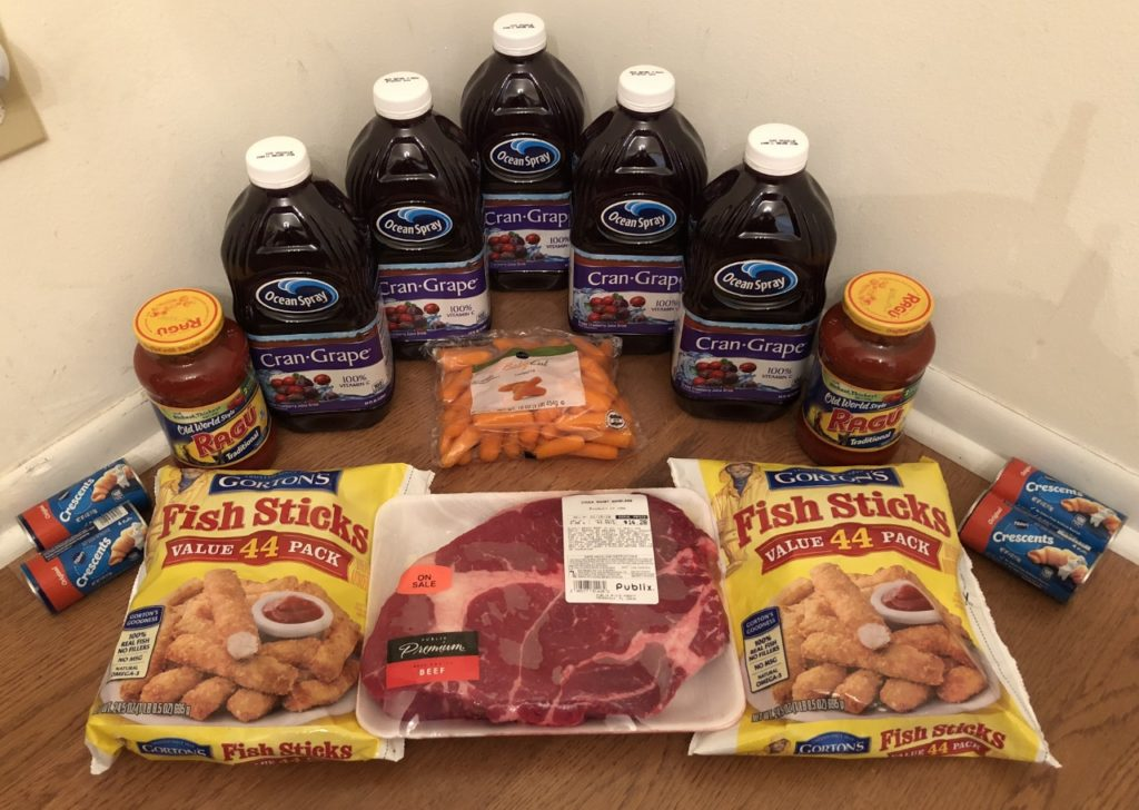 My 1/10 Publix Trip - $70.26 for $34.61 or 51% Off