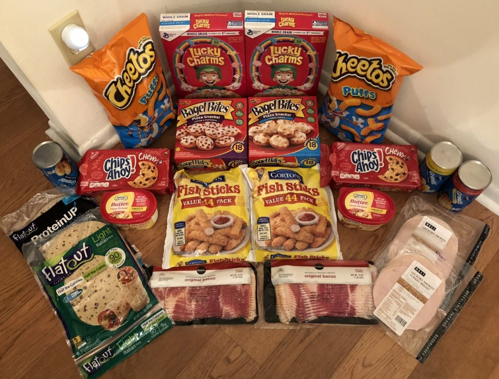 My 2/7 Publix Trip - $94.90 for $40.60 or 57% Off