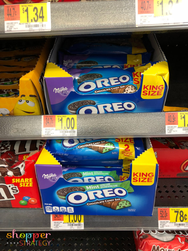 King Size OREO Chocolate Candy Bars Only $1 at Walmart!