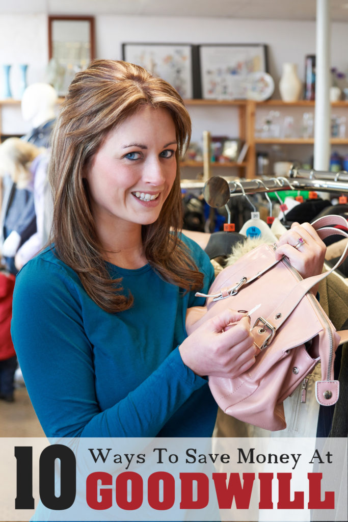 10 Ways to Save Money at Goodwill