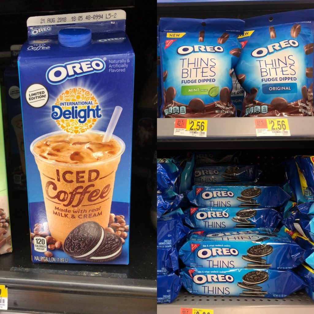 Grab a Great ibotta Deal on OREO Thins Bites & ID OREO Iced Coffee